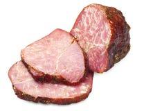 отрезанный meatloaf Стоковая Фотография RF
