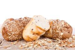 Отрезано хлеба multigrain стоковое фото rf