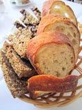 Отрезано?? хлеб. стоковая фотография rf