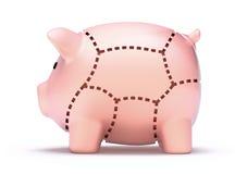 Отрезки сбережений Стоковое Фото