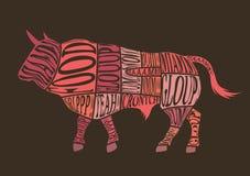 Отрезки Bull Стоковое Фото