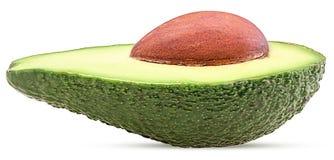 отрезок авокадоа половинный стоковые фотографии rf