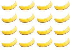 отрезок кругов бананов банана предпосылки Стоковые Фотографии RF