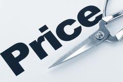отрезок - цена стоковая фотография