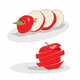Отрезок Яблока Стоковые Фото