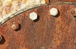 отремонтированная старая люка Стоковые Фотографии RF