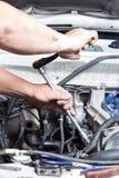 Отремонтируйте автомобиль стоковая фотография rf