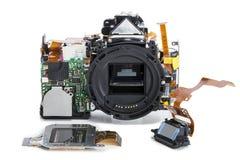 Отремонтируйте цифровую камеру SLR Стоковая Фотография RF