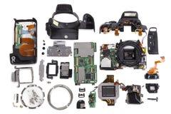 Отремонтируйте цифровую камеру SLR Стоковые Изображения