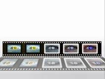 отрицательная лента фото Стоковое Изображение RF