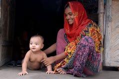 отроческая девушка Индия сельская Стоковые Фотографии RF