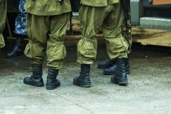 отряд бунта Стоковая Фотография
