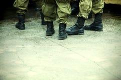 отряд бунта Стоковая Фотография RF