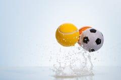 отскакивать шариков Стоковое Изображение RF