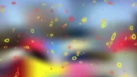 Отснятый видеоматериал элементов движения иллюстрация штока