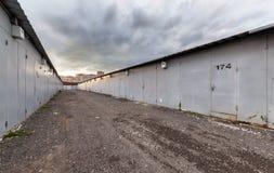 Отстробированный комплекс гаража Стоковое Изображение RF
