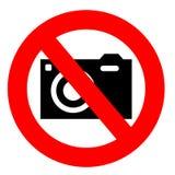Отсутствие знака камеры Стоковые Фотографии RF