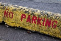 Отсутствие знака стоянкы автомобилей Стоковая Фотография RF