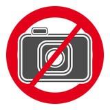 Отсутствие значка камеры Знак и символ бесплатная иллюстрация