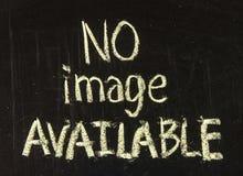 Отсутствие изображения доступного Стоковая Фотография RF