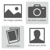 Отсутствие изображения доступного иллюстрация штока
