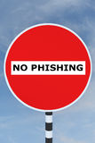 Отсутствие концепции Phishing бесплатная иллюстрация