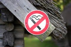 отсутствие курить знака Стоковые Изображения