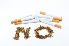 отсутствие курить знака Стоковое фото RF