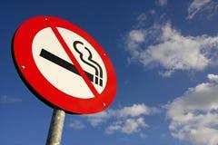 отсутствие курить знака Стоковые Изображения RF