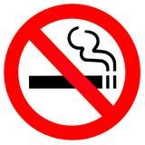 отсутствие курить знака Стоковая Фотография