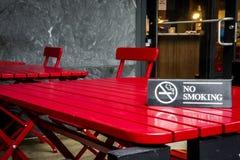 отсутствие курить знака Стоковое Изображение