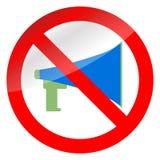 Отсутствие мегафона пропаганды и запрета бесплатная иллюстрация
