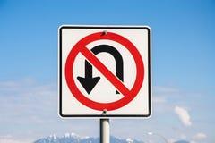 Дорожный знак Стоковые Фото