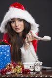 Отсутствие ответа на Рожденственской ночи Стоковое фото RF