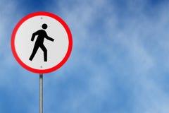 Отсутствие пешеходов иллюстрация вектора