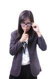отсутствие работы женщин знака шума Стоковое Изображение RF