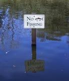Отсутствие рыболовства Стоковое Фото