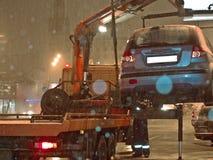 отсутствие стоянкы автомобилей стоковое фото rf