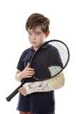 Отсутствие тенниса сегодня Стоковая Фотография