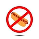 Отсутствие хот-дога бесплатная иллюстрация