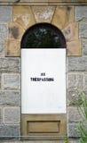 Отсутствие Trespassing Стоковое фото RF