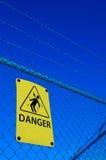отсутствие trespassing Стоковые Изображения