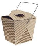 отсутствующее взятие контейнера картона стоковое фото rf