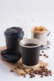отсутствующее взятие кофейной чашки Стоковые Фотографии RF