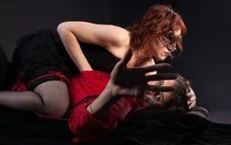 отсутствующее взятие места папарацци человека влюбленности руки Стоковая Фотография