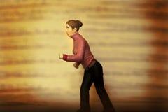 отсутствующий бежать Стоковое Фото