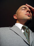 отсутствующий запомненный бизнесмен Стоковые Изображения RF