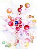 отсутствующий летать шариков предпосылки Стоковые Изображения RF