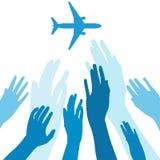 Отсутствующий самолет Стоковое Фото