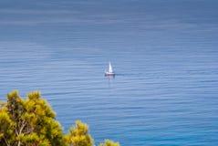 отсутствующий sailing Стоковая Фотография